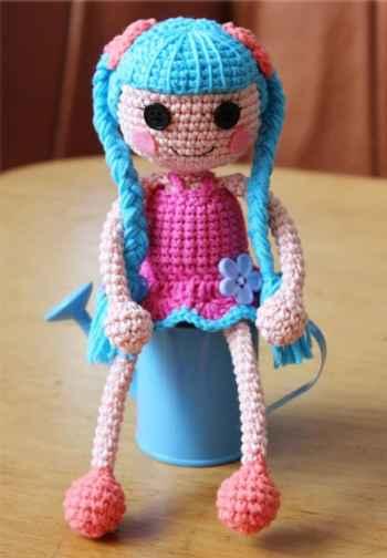 Crochet lalaloopsy amigurumi pattern