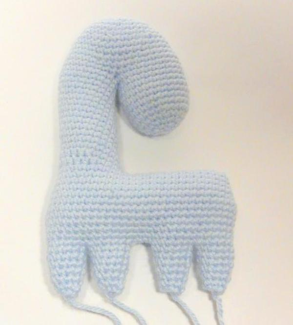 Amigurumi crochet horse pattern tutorial