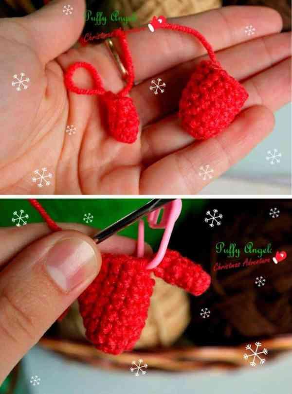 Christmas deer amigurumi free pattern