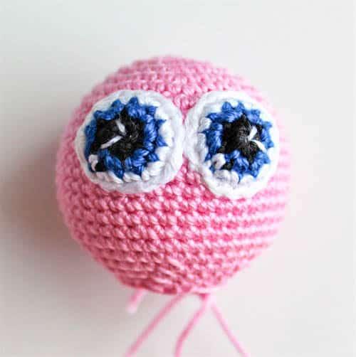Amigurumi butterfly rattle crochet pattern