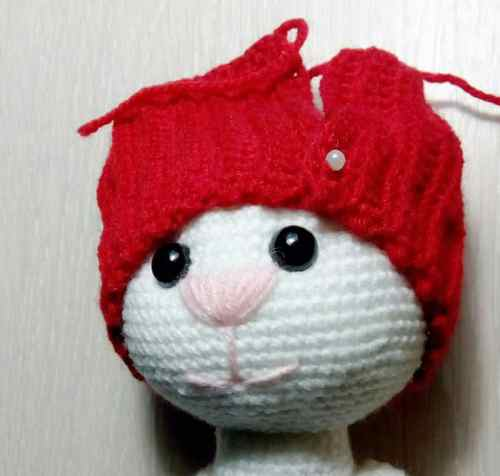 How to crochet hat for amigurumi cat