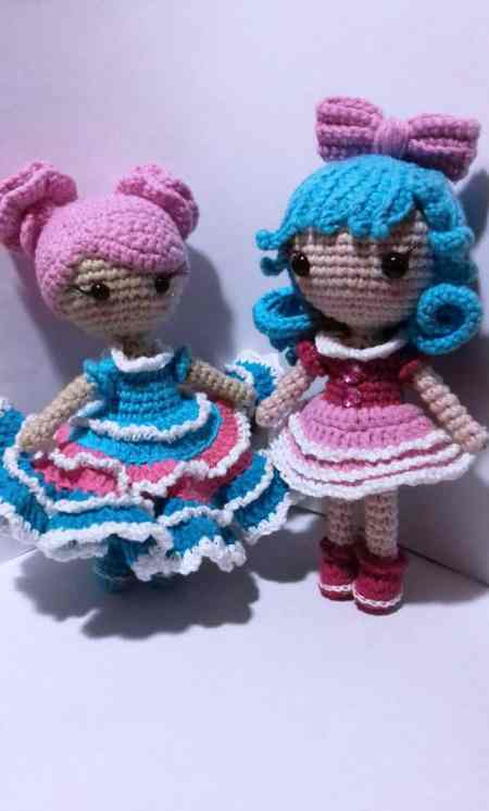 Little crochet doll amigurumi pattern
