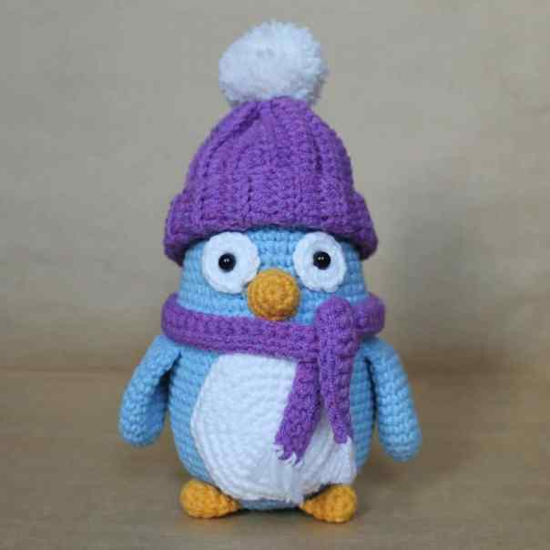 Free Amigurumi Penguin Crochet Patterns : Baby penguin amigurumi pattern - Amigurumi Today