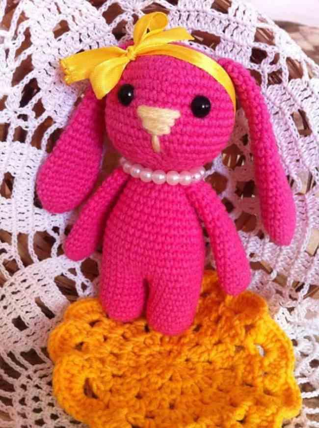 FREE Marmalade Crochet Bunny Pattern