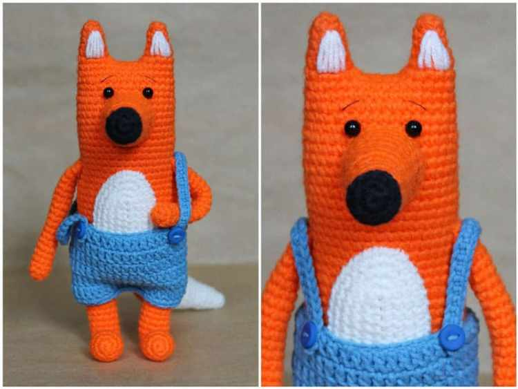 Mr fox crochet pattern free