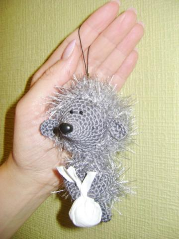 Free amigurumi hedgehog crochet pattern