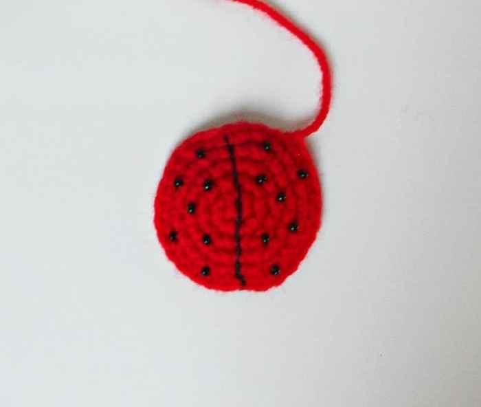 Amigurumi bugs - ladybird crochet pattern
