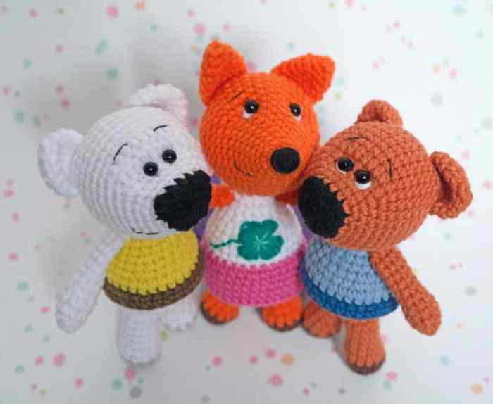 Amigurumi tiny fox crochet pattern