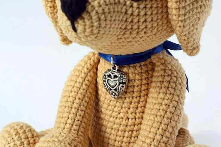Lucky Puppy amigurumi pattern - free crochet pattern