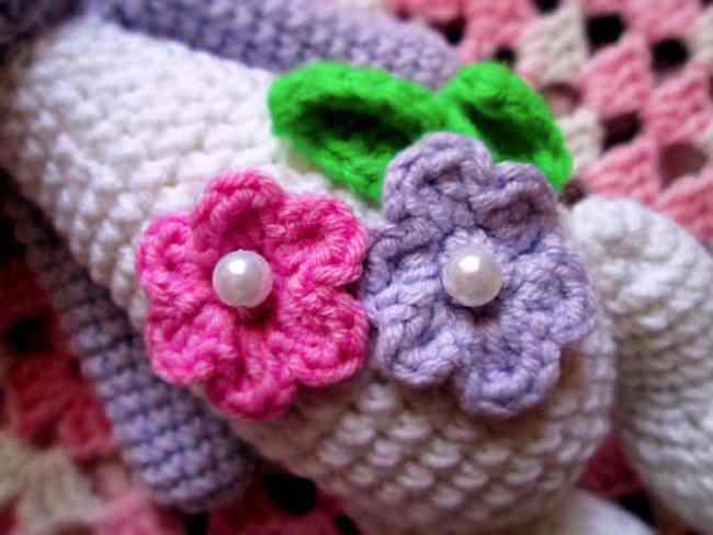 Sleeping teddy bear amigurumi crochet pattern