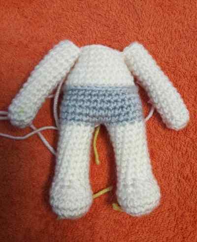 Julie doll amigurumi pattern - body