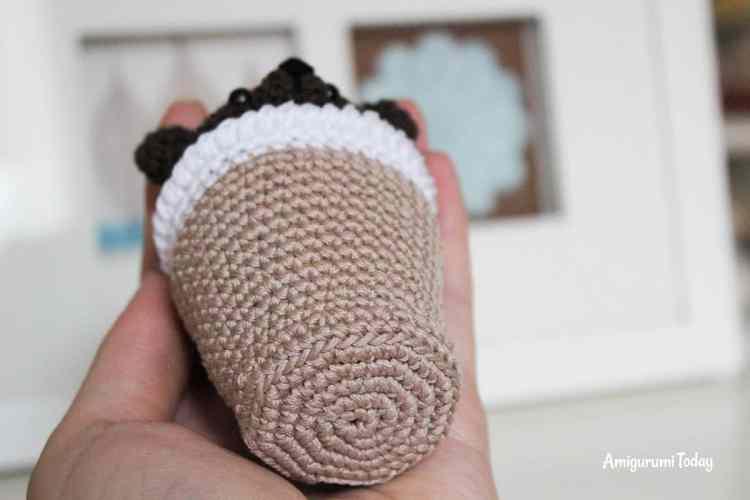 Creamy choco bear - free amigurumi pattern