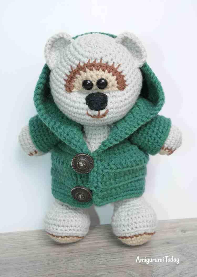 Honey teddy bear crochet pattern