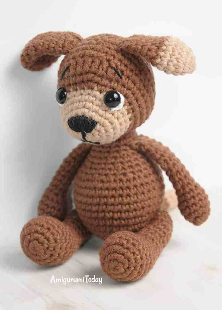 Amigurumi Timmy the Dog crochet pattern