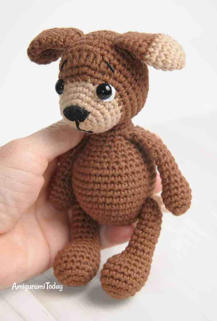 Amigurumi Timmy the Dog - Free Pattern