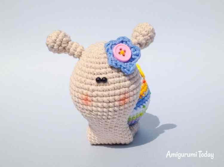 Amigurumi Increase : Lady snail amigurumi pattern - Amigurumi Today