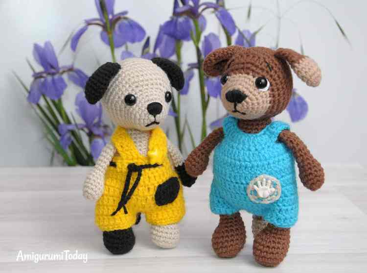 Timmy and Tommy - free crochet patterns