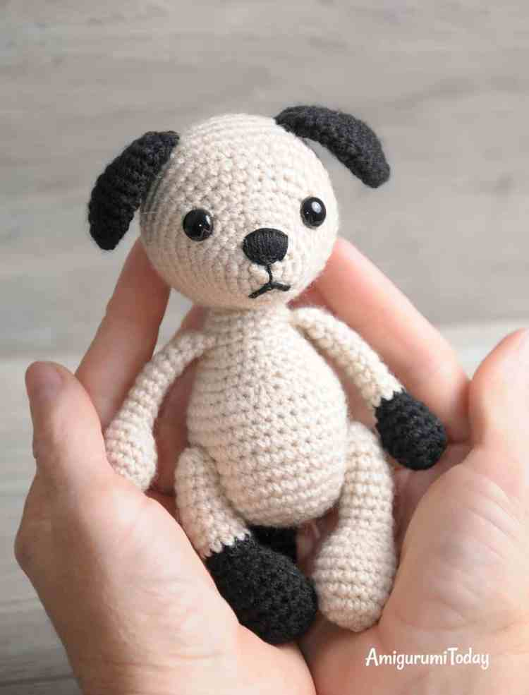Tommy the Dog - FREE crochet pattern