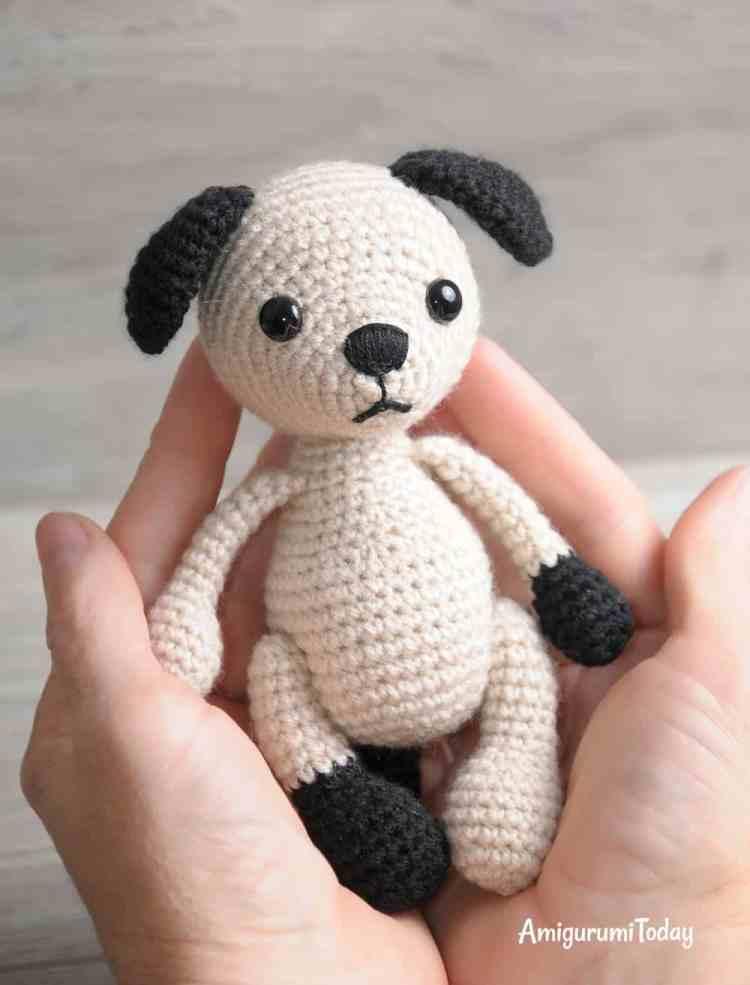 Crochet Amigurumi Dog : Tommy the dog crochet pattern amigurumi today