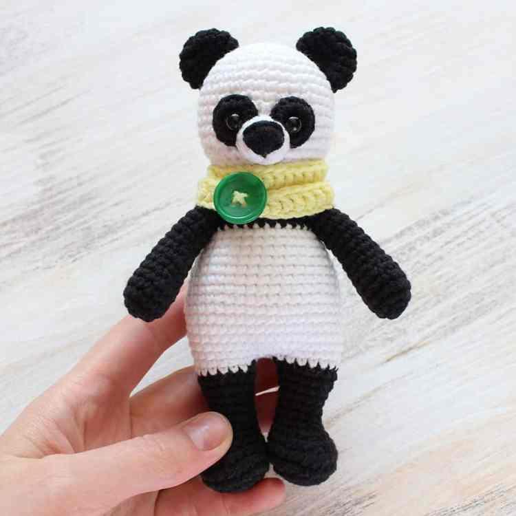 Crochet Cuddle Me Panda - Free amigurumi pattern