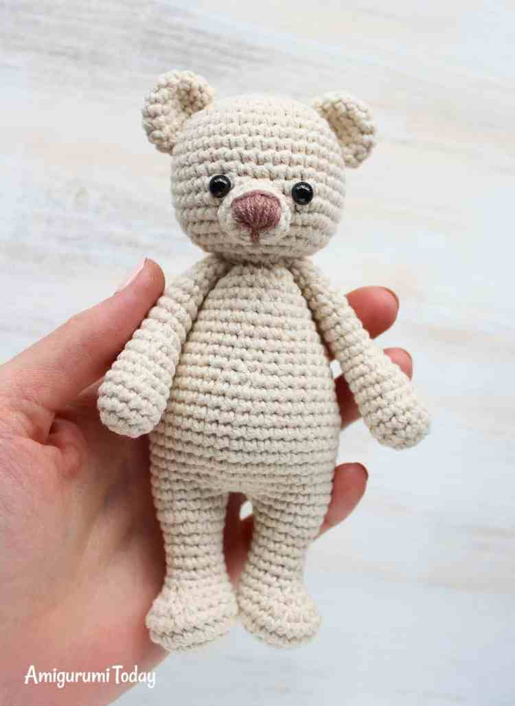 Cuddle Me Bear Crochet Tutorial