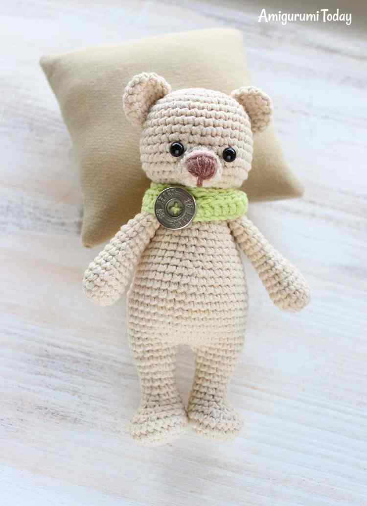 Amigurumi Patterns Bear : Cuddle me bear amigurumi pattern today