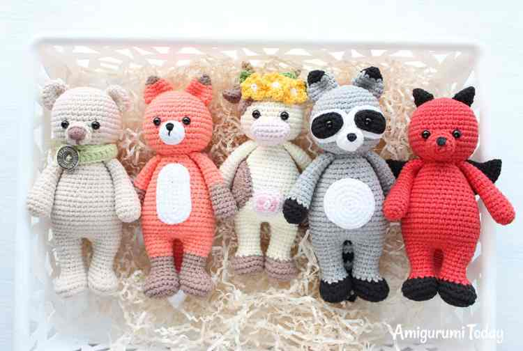 Crochet Cuddle Me Toys - Free amigurumi patterns