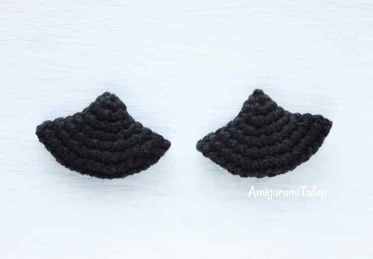 Cuddle Me Dragon crochet pattern - wings