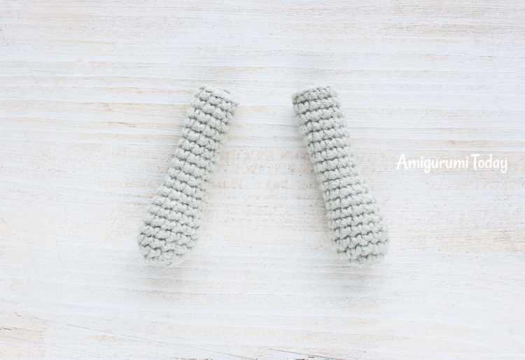 Cuddle Me Elephant Crochet Pattern - arms