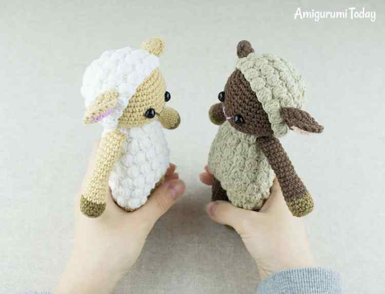 Cuddle Me Sheep amigurumi pattern by Amigurumi Today
