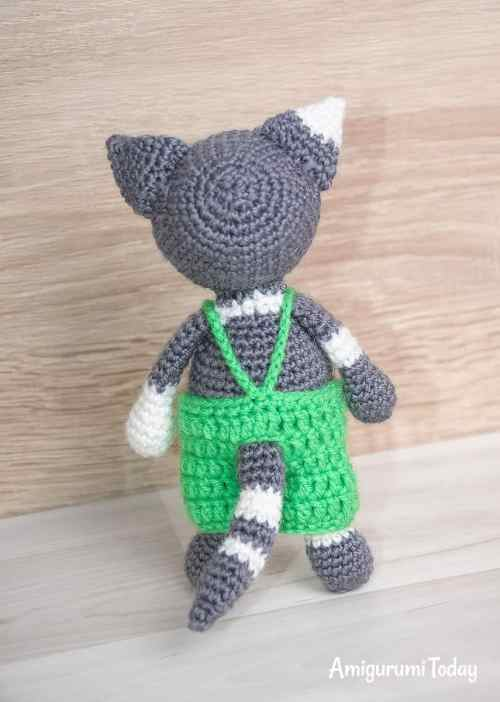 Toby the Cat - Free crochet pattern by Amigurumi Today