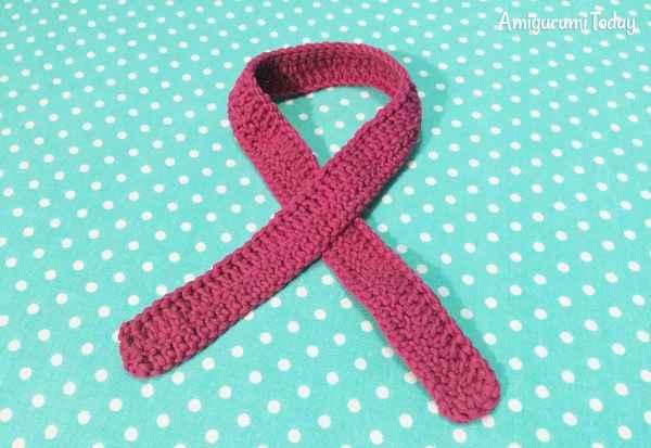 Amigurumi duckling crochet pattern - scarf