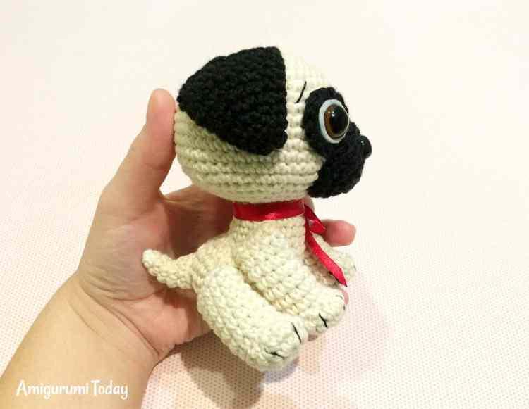 Amigurumi Baby Free Pattern : Baby pug dog amigurumi pattern today