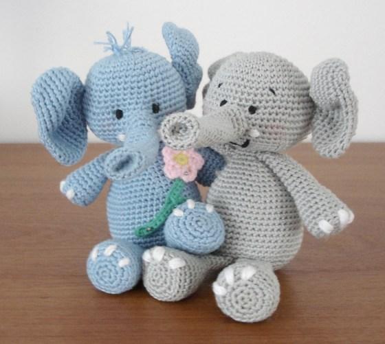 The Craftzilla: Amigurumi Elephant and Pattern | 501x560