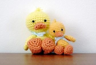 Minie quacks