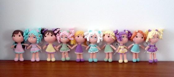 Happy dolls greeting