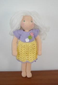 Waldorf inspired doll - AmigurumiBB