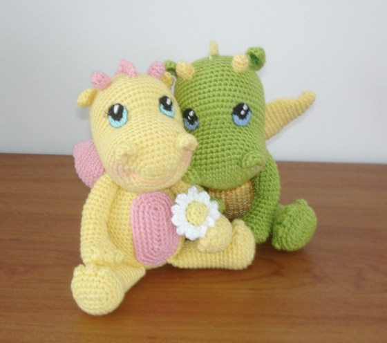 Baby Dragons by Vanja Grundmann–AmigurumiBB