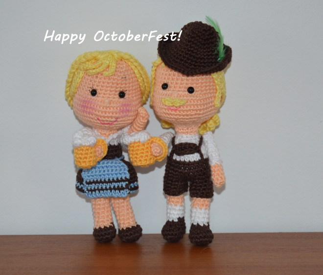Crocheted Dolls Amigurumibb By Cheche