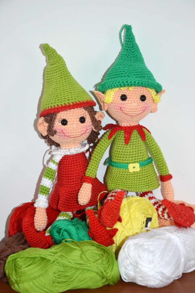 Christmas Elves - AmigurumiBB