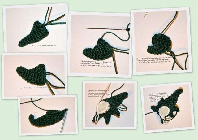 Elven shoe - AmigurumiBB