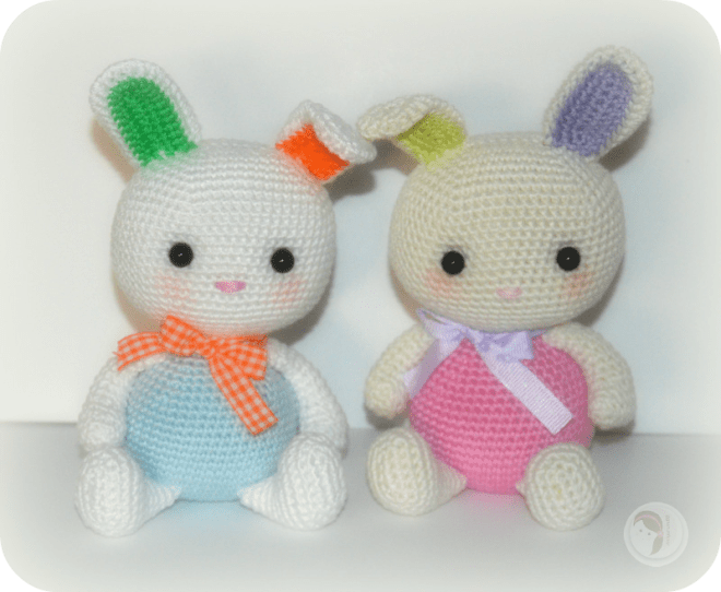Bunny Babies by AmigurumiBB