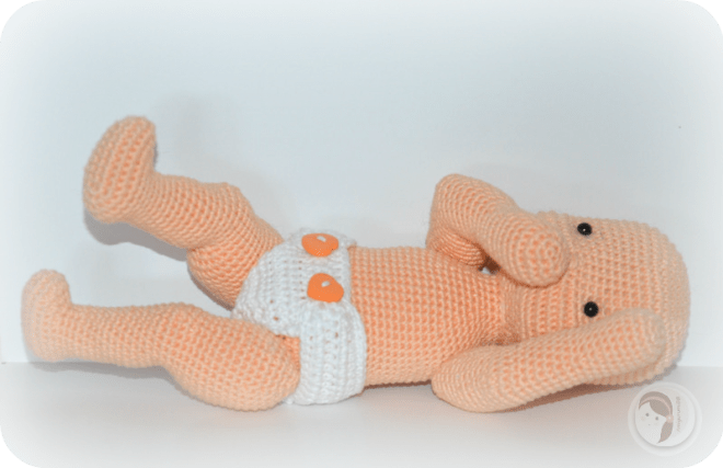 Free Crochet Doll Pattern AmigurumiBB By Che'Che' Enchanting Crochet Baby Doll Pattern