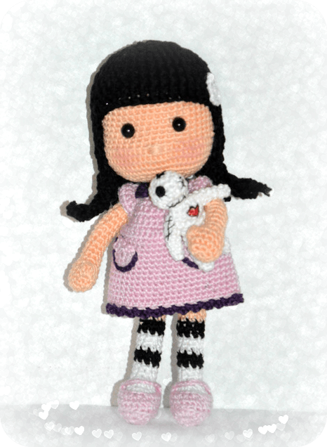 Amigurumi Big Nose Doll FREE PATTERN... - Tiny Mini Design | Facebook | 636x466