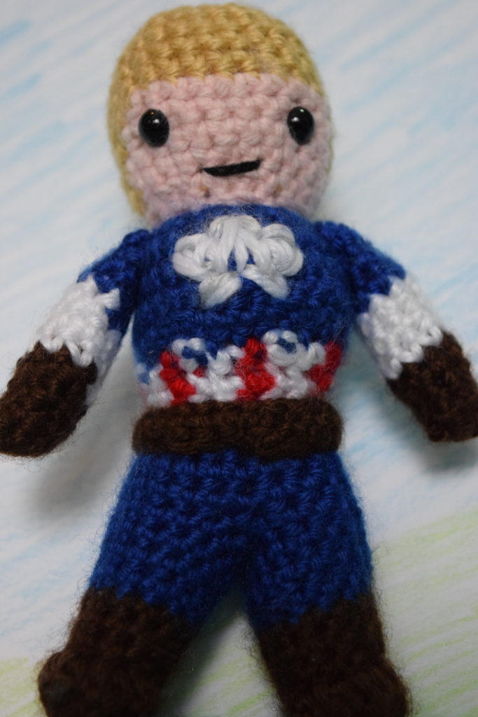 The Star Spangled Man With A Plan Amigurumination