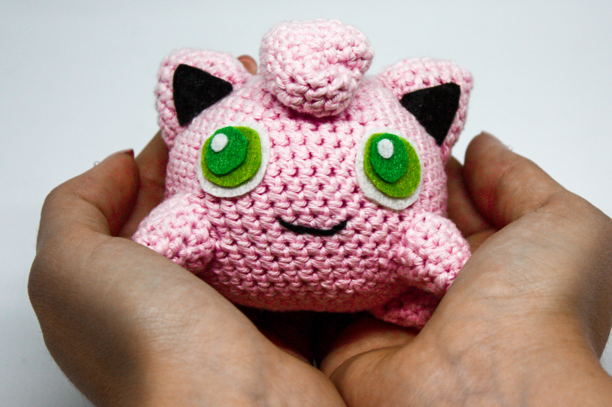 Ravelry: Jigglypuff Pokemon Amigurumi pattern by NeedleHook Creations | 1365x2048