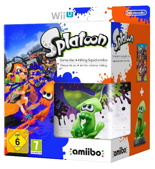Splatoon Special Edition Pack with squid