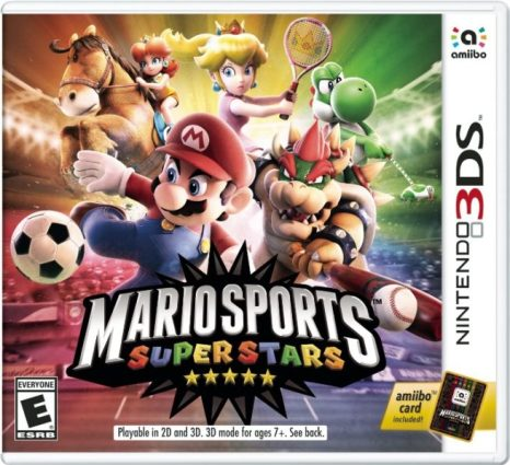 mario sports superstars box art - Nintendo 3DS