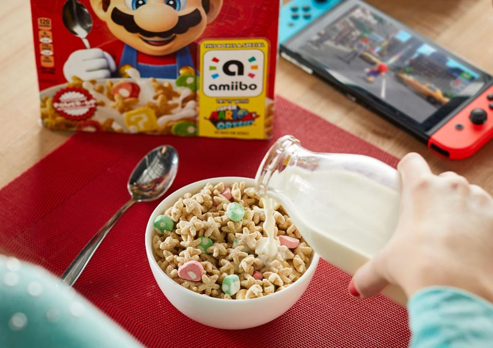 Super Mario Cereal Amiibo