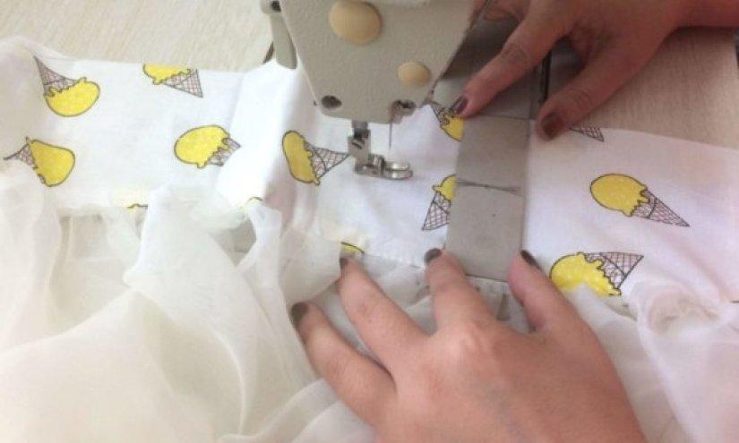 Как ровно проложить строчку на швейной машине без разметки